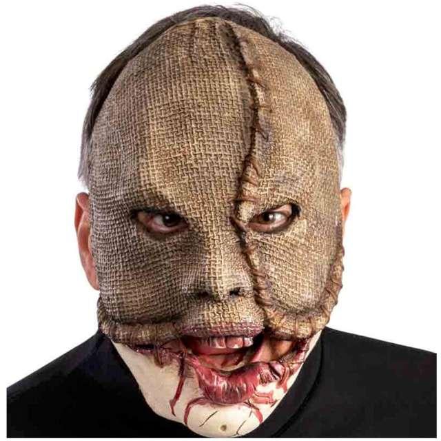 """Maska """"Potwór z ruchomą żuchwą"""", jutowa, Carnival Toys"""