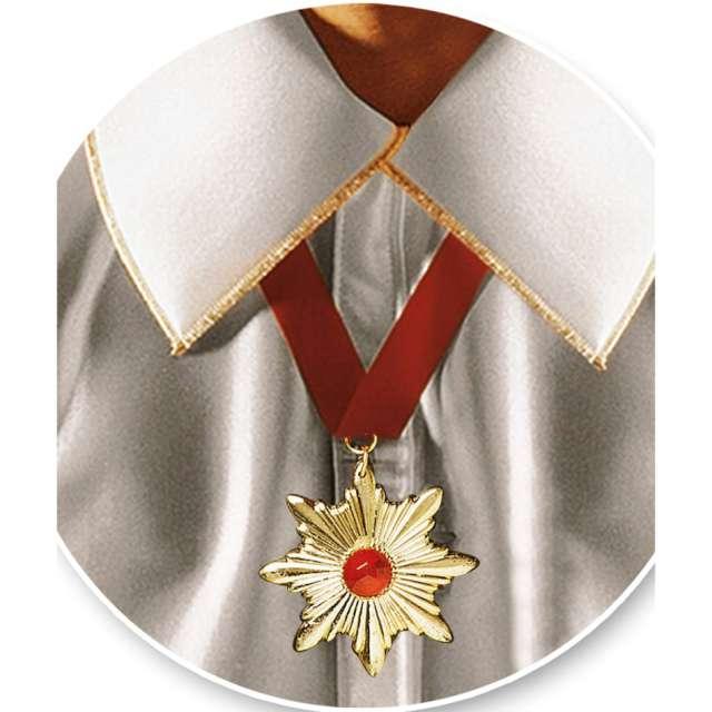 Naszyjnik Medalion Wampira złoty Carnival Toys