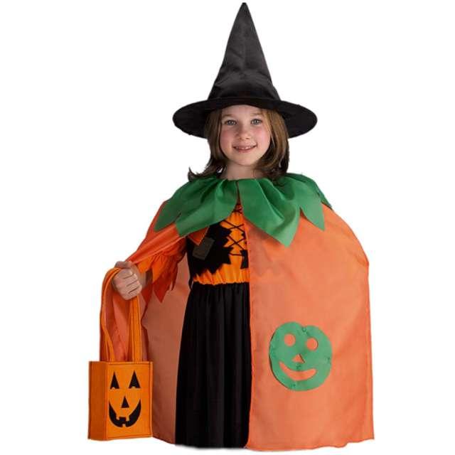 """Strój dla dzieci """"Peleryna - Dynia w kapeluszu"""", pomarańczowa, Carnival Toys"""