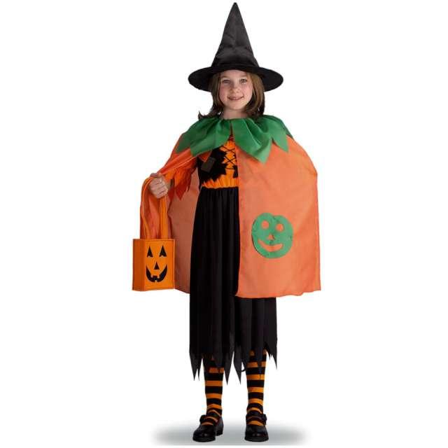 Strój dla dzieci Peleryna - Dynia w kapeluszu pomarańczowa Carnival Toys