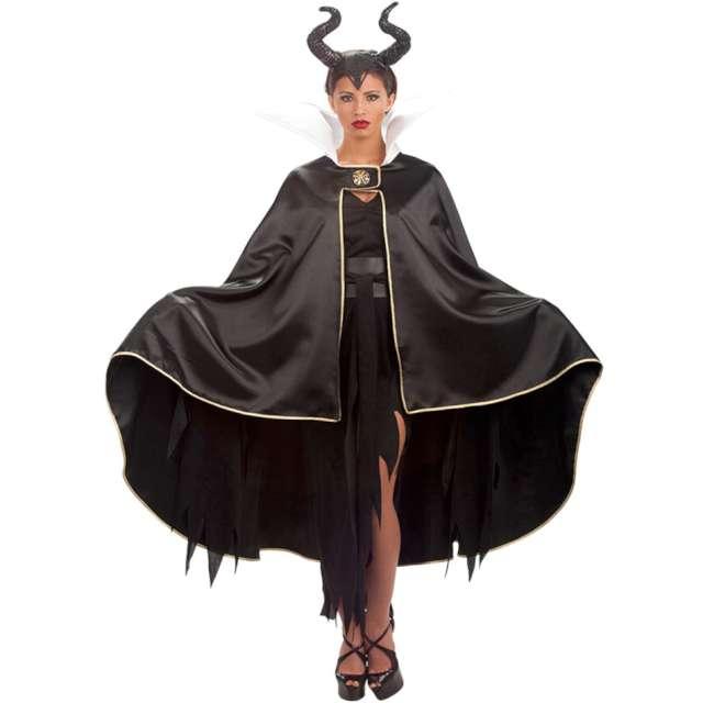 Strój dla dorosłych Peleryna czarownicy czarna Carnival Toys