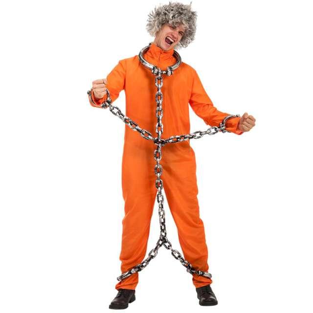 """Strój dla dorosłych """"Amerykański Więzień"""", Carnival Toys, M / L"""