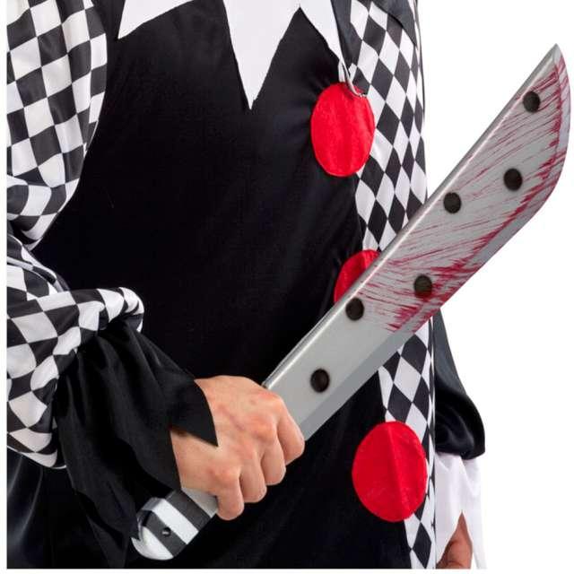 Broń Maczeta Klauna Psychopaty Carnival 54 cm