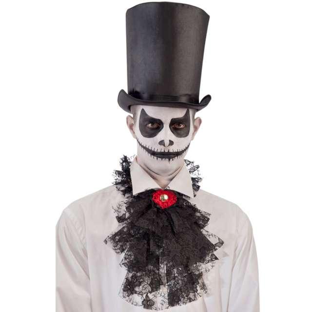 Żabot Elegant czarny Carnival Toys