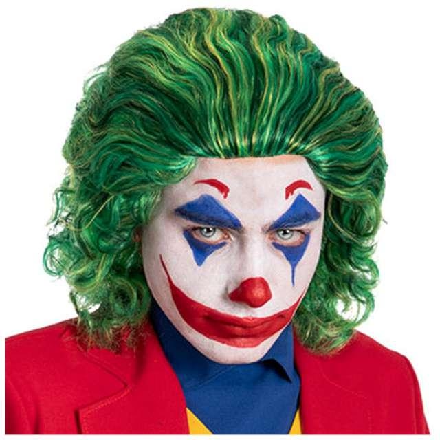 """Peruka party """"Bohater Joker"""", zielona, Carnival Toys"""