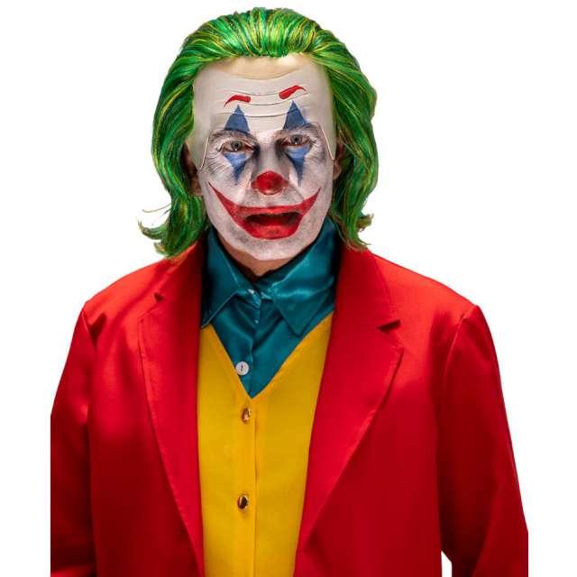 Peruka party Klaun Joker z czołem zielona Carnival Toys