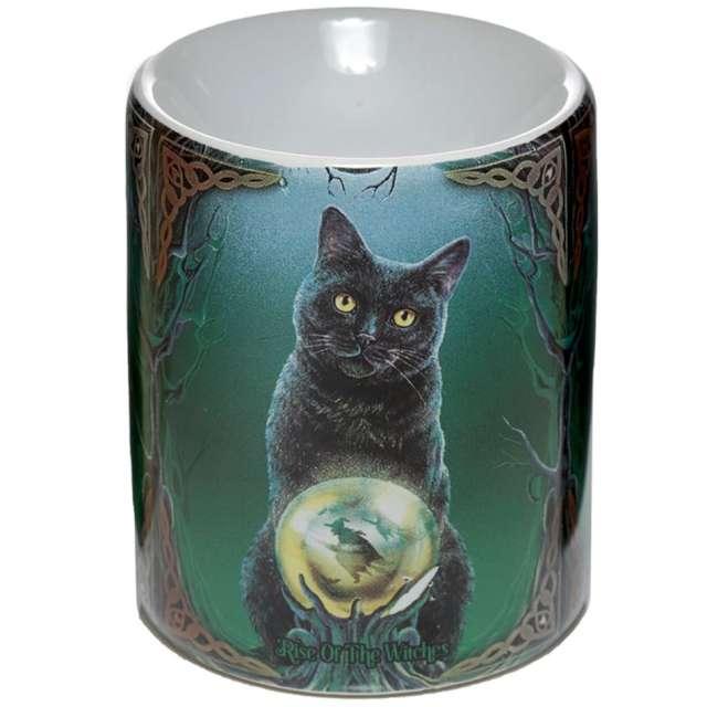Kominek ceramiczny Do olejków - Kot Wiedźmy Puckator