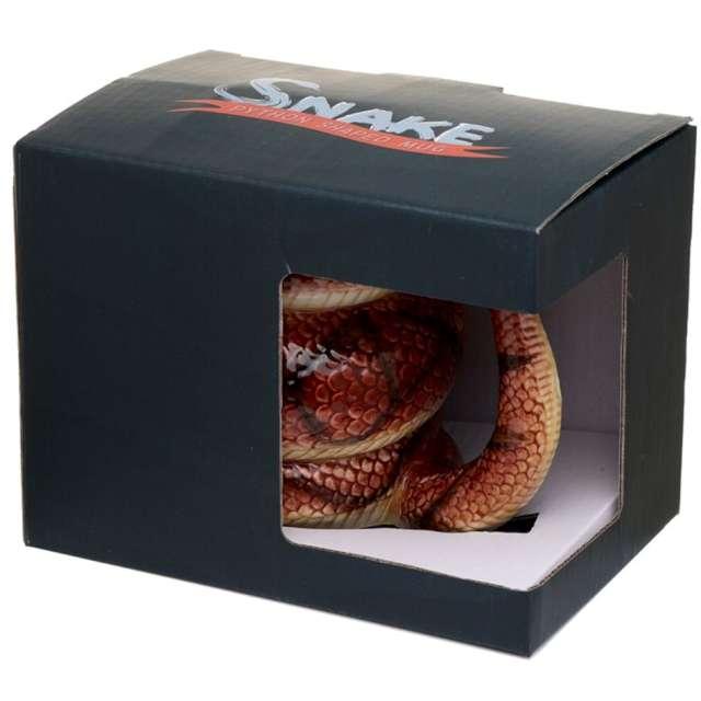 Kubek Wąż - Pyton brązowy Kemiś 350 ml