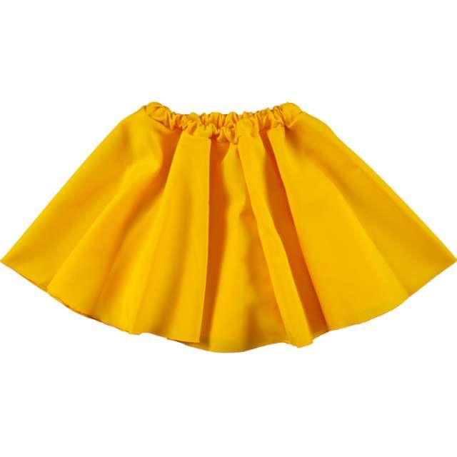 """Spódniczka """"Żółta Tancereczka"""", strech, Kraszek, 33 cm"""