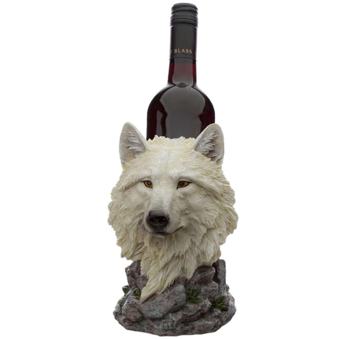 """Stojak na wino """"Biały Wilk"""", Kemiś, 20 cm"""