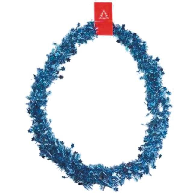 """Łańcuch Choinkowy """"Classic Gwiazdki 3"""", niebieski, 3 cm / 2 m, Arpex"""