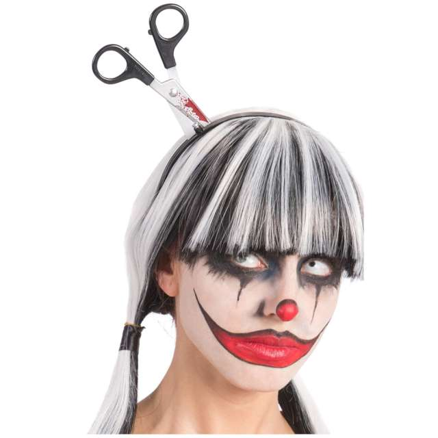 Opaska party Nożyczki w głowie Carnival Toys