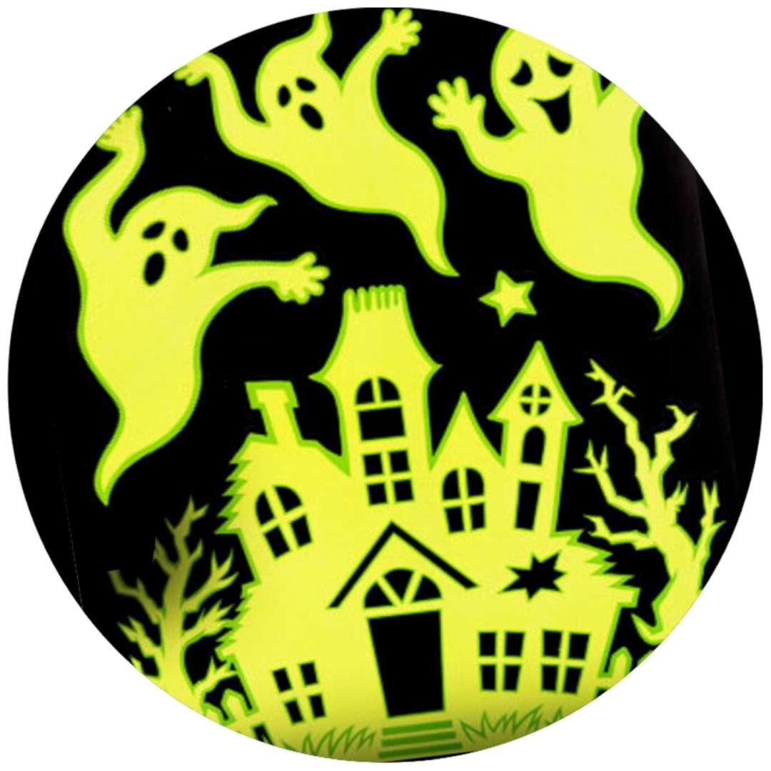 """Naklejki fluorescencyjne """"Halloween - Duchy na zamku"""", Carnival Toys"""