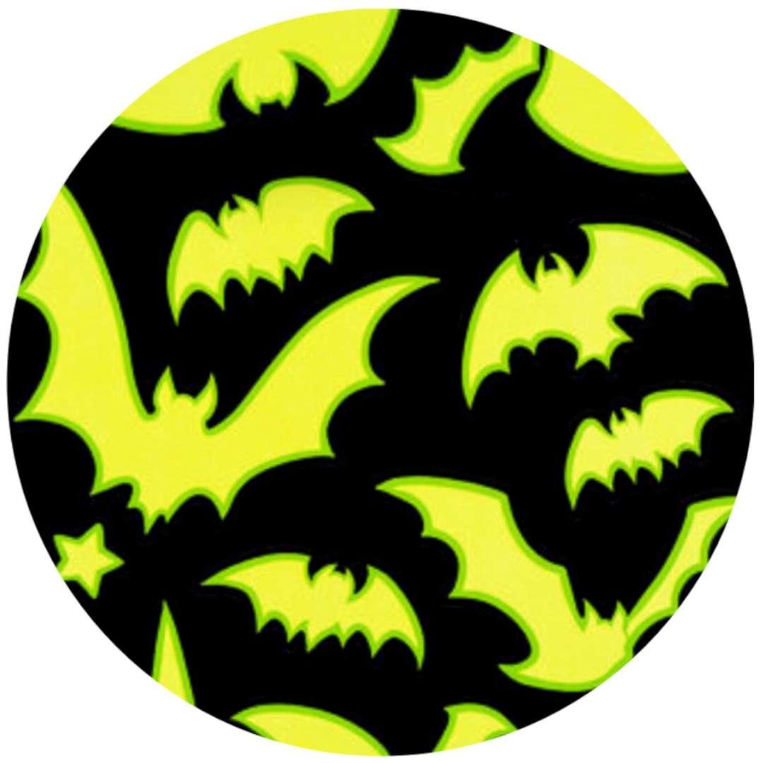Naklejki fluorescencyjne Halloween - Nietoperze Carnival Toys