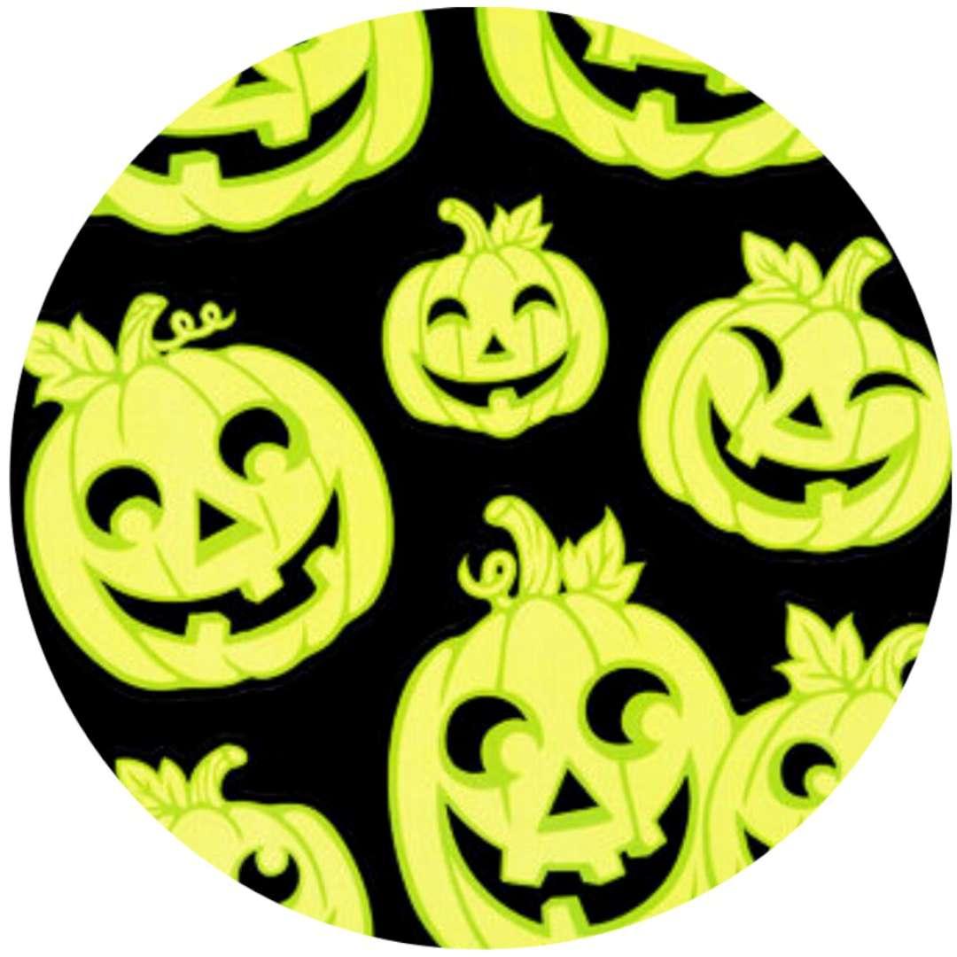 """Naklejki fluorescencyjne """"Halloween - Dynie"""", Carnival Toys"""