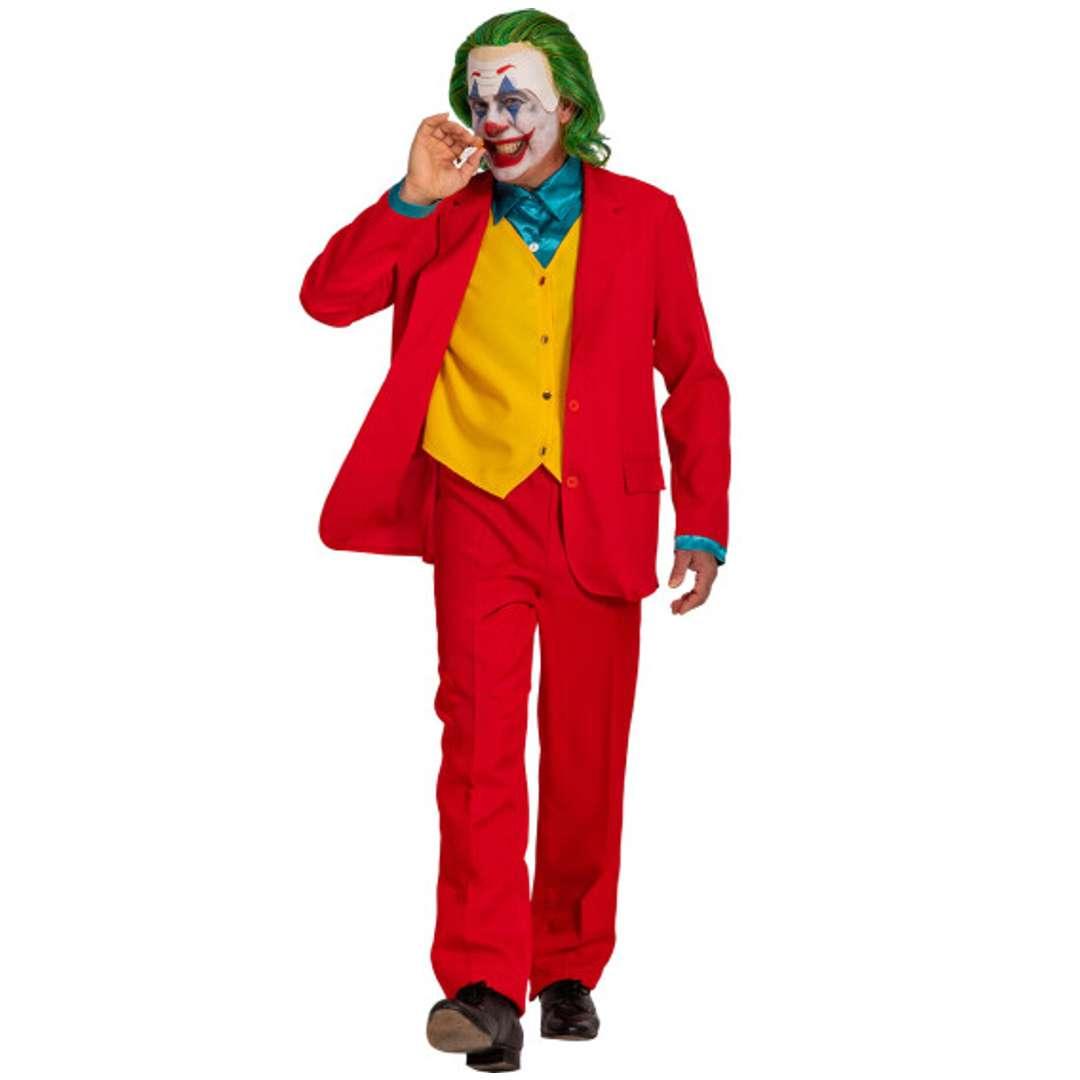 """Strój dla dorosłych """"Joker"""", czerwony, Carnival Toys, rozm. M/L"""