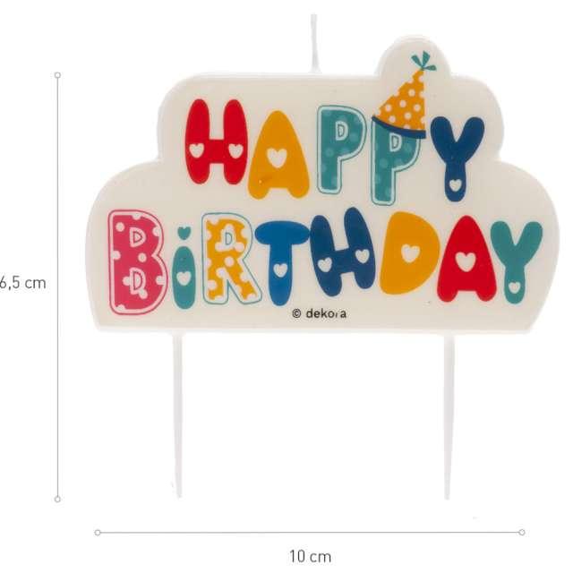 _xx_HAPPY BIRTHDAY CANDLE 10X6CM