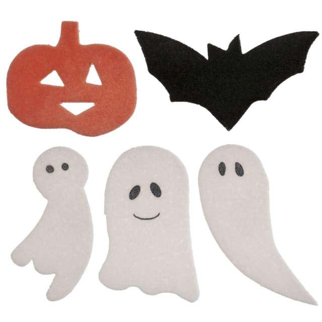 """Dekoracja na Muffinki """"Halloween"""", mix, Dekora, 128 sztuk"""