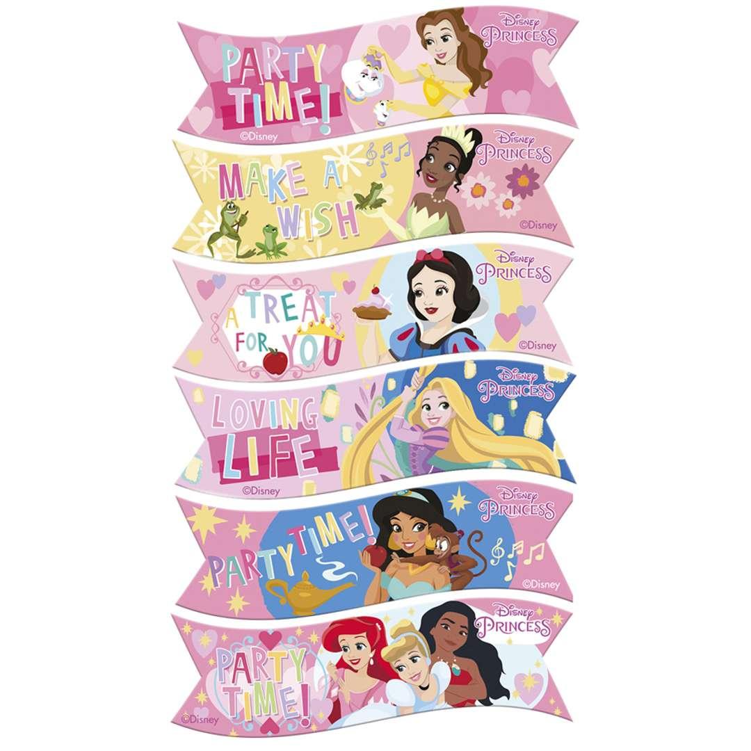 Dekoracja tortu - opłatek Disney Princess Dekora 6 szt