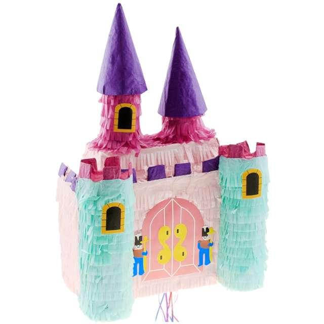 _xx_Piniata na sznurki Zamek Księżniczki 25 x 17 x 42 cm