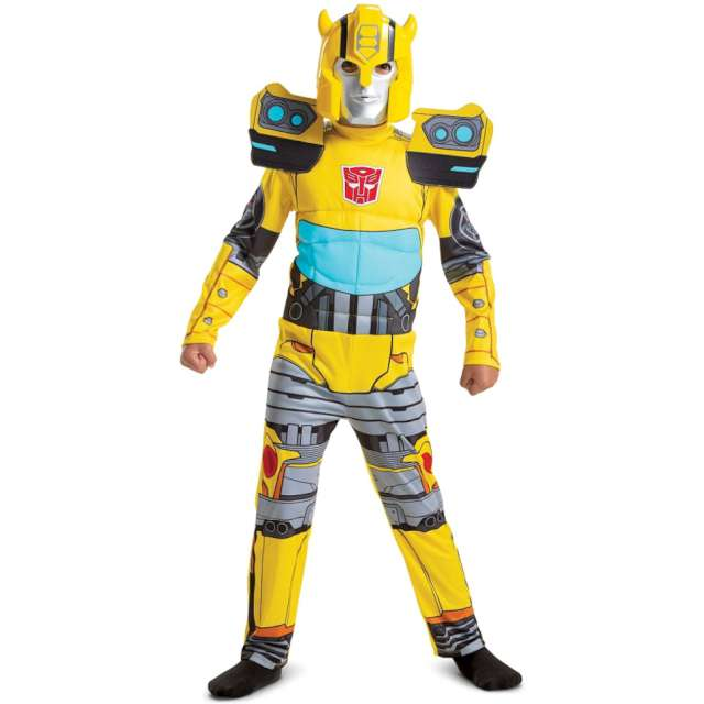 "Strój dla dzieci ""Transformers - Bumblebee"", Disguise Costumes, 128/134"