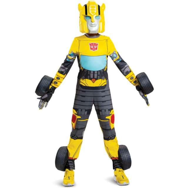 "Strój dla dzieci ""Transformers - Bumblebee - 3 postaci"", Disguise Costumes, 122/125"