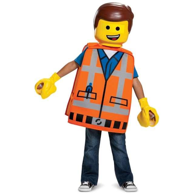 """Strój dla dzieci """"Lego Emmet - kamizelka"""", Disguise Costumes, rozm. uniw."""