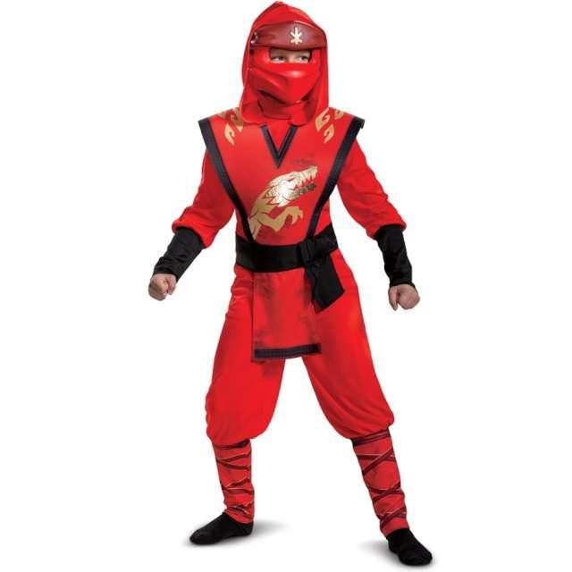"""Strój dla dzieci """"Kai Legacy Lego Ninjago"""", Disguise Costumes, 128/134"""