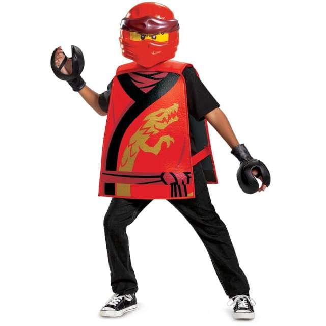 """Strój dla dzieci """"Kai Legacy Lego Ninjago"""", Disguise Costumes, rozm. uniw."""