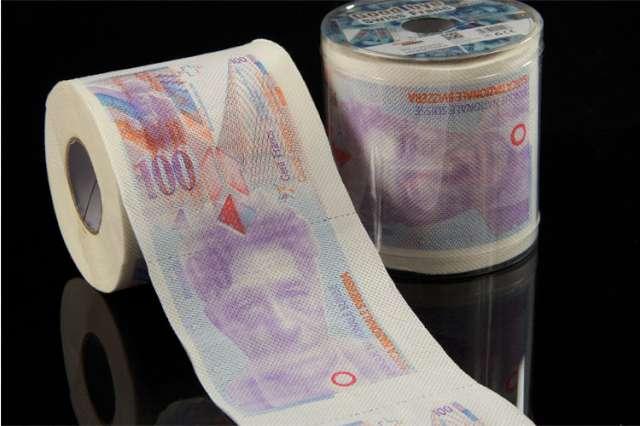 Papier toaletowy 100 franków XL GadgetMaster
