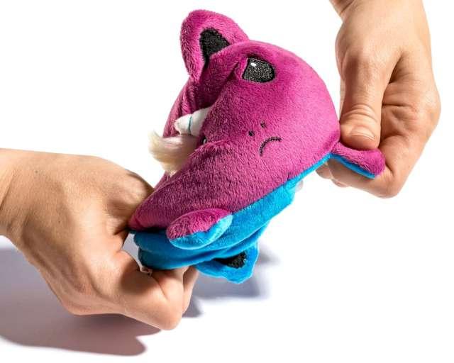 Maskotka Przewrotny jednorożec fioletowo-niebieska GadgetMaster