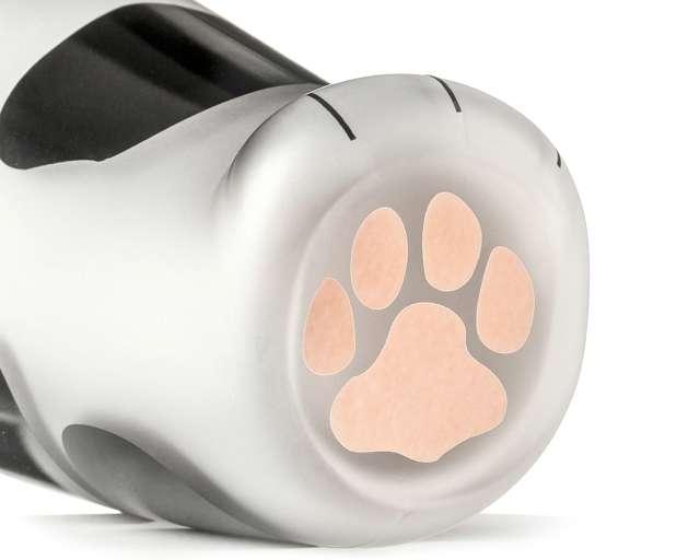 Szklanka Kocia łapka czarno-biała GadgetMaster 300 ml