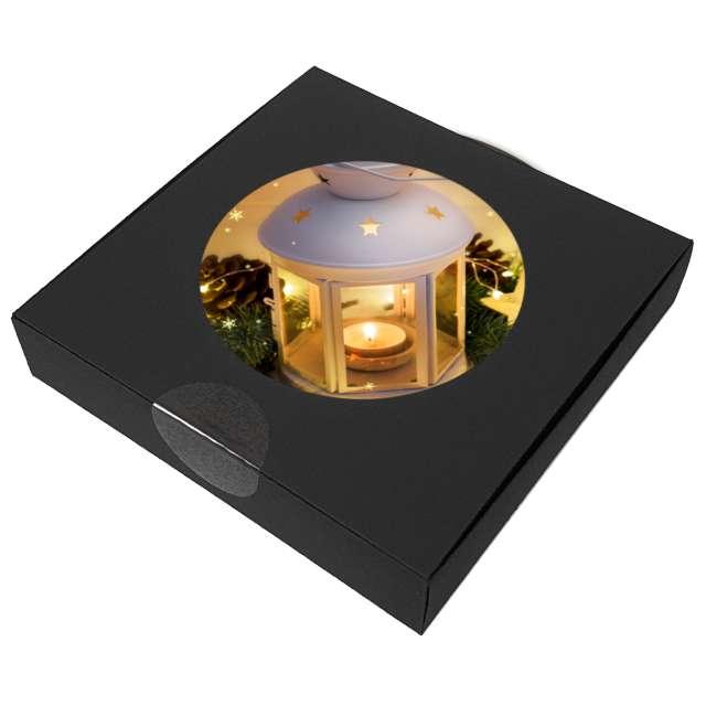 Podkładki drewniane Świąteczny Lampion 6 szt