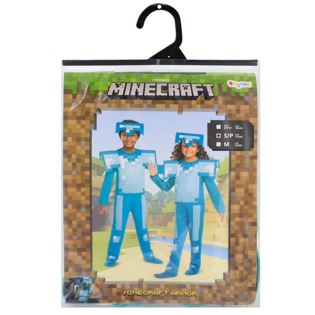 Strój dla dzieci Minecraft - diamentowa zbroja Disguise Costumes 4-6 lat