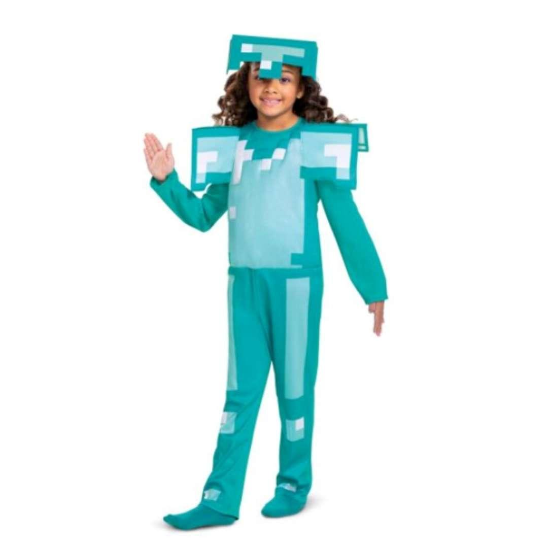 Strój dla dzieci Minecraft - diamentowa zbroja Disguise Costumes 7-8 lat