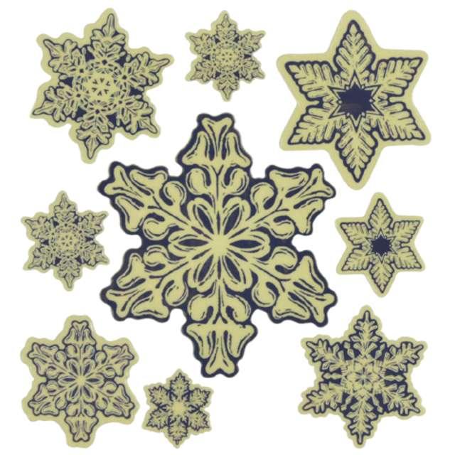 _xx_Śnieżynki świecące w ciemności - 9 śnieżek