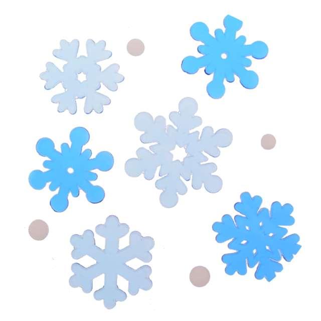 """Naklejki na okno """"Śnieżynki mix"""", żelowe, Aliga"""