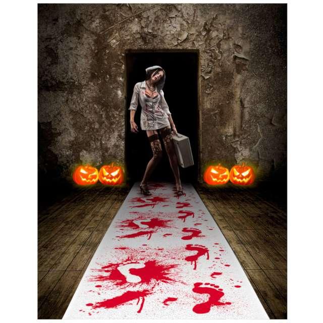 Chodnik Krwawe Ślady biały Folat 450 x 60 cm