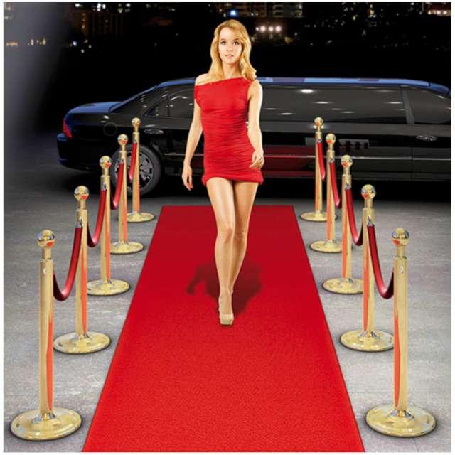 Dywanik party Hollywood czerwony Folat 450 x 50 cm