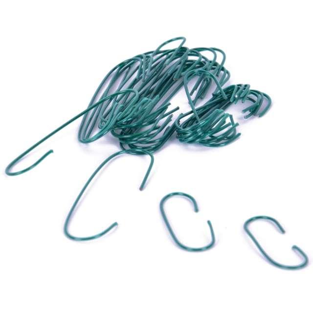 _xx_Haczyki metalowe zielone (150 szt.)