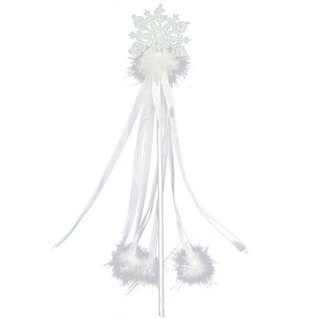 Różdżka party Królowa Śniegu biała Arpex 42 cm