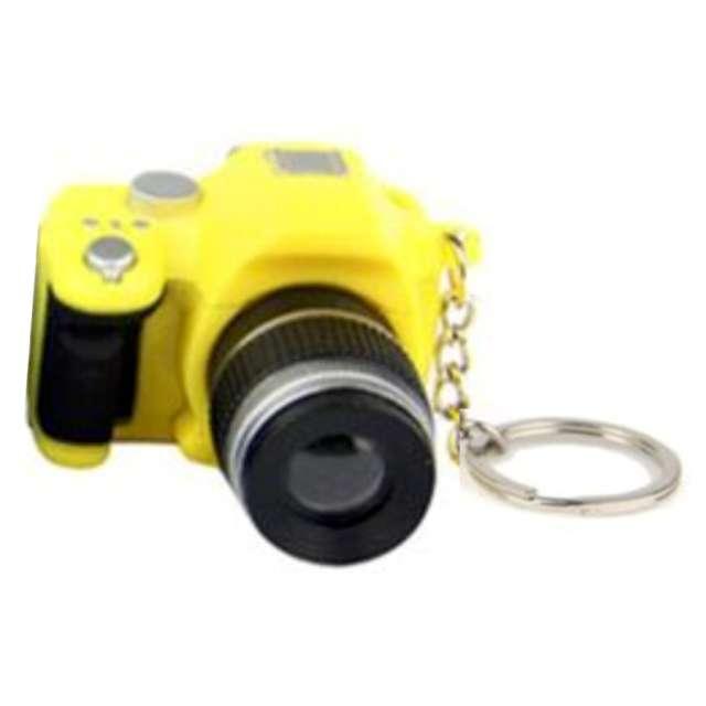 """Brelok do kluczy """"Aparat foto"""", żółty, OEM"""