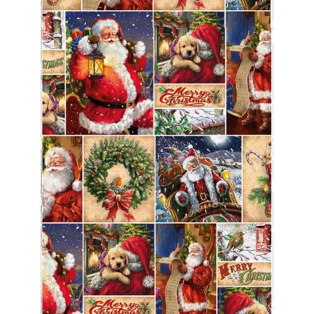 _xx_papier ozdobny 2 metrowy merry christmas miko 50414