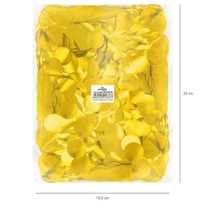 _xx_Konfetti foliowe 500 g - złote