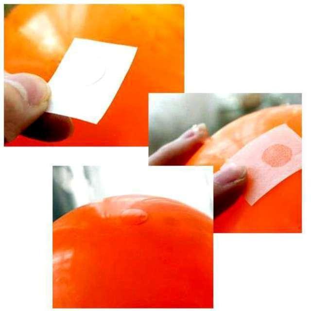 Taśma do balonów Kleksy PartyPal 11 mm 100 szt