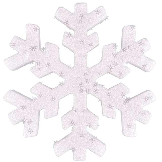 """Ozdoba choinkowa """"Brokatowa śnieżynka"""", Arpex, 20 cm"""