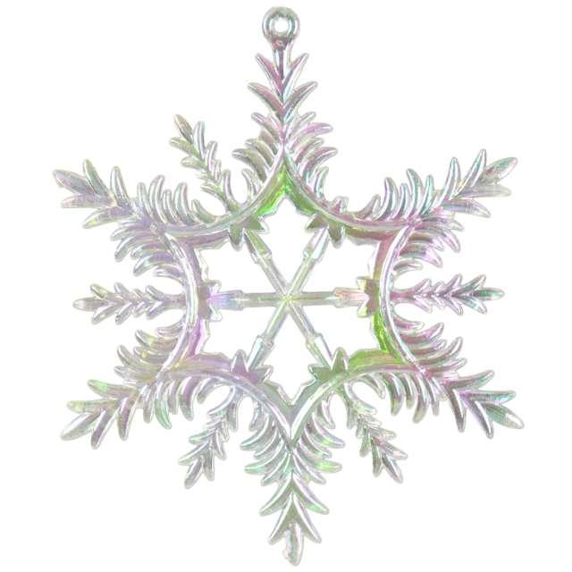 """Ozdoba choinkowa """"Opalizująca śnieżynka"""", Arpex, 13 cm"""