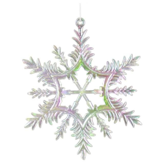 Ozdoba choinkowa Opalizująca śnieżynka Arpex 13 cm