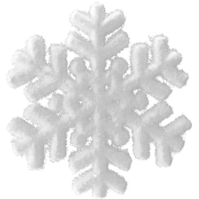 """Ozdoba choinkowa """"Oszroniona śnieżynka"""", Arpex, 20 cm"""