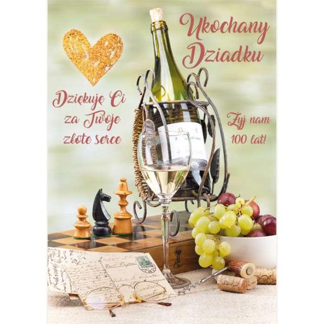 _xx_laurka B6 ukochany dziadku wino 50696